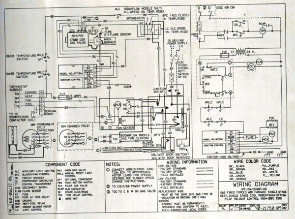 Wiring Diagram Goodman Manufacturing Company