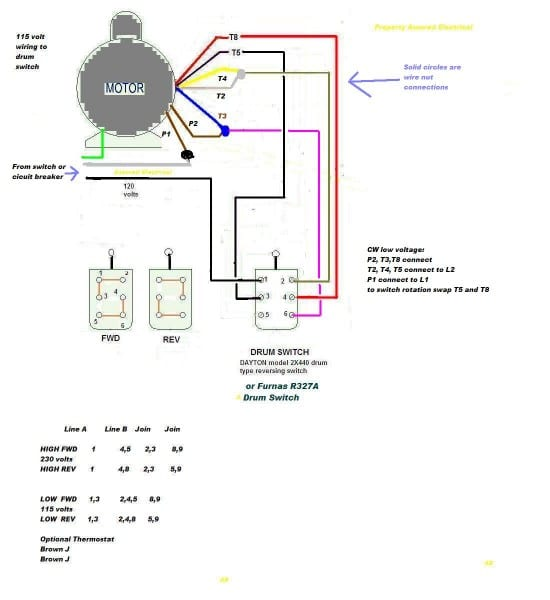 Wiring Diagram Leeson Motor Lincoln Electric For Single Phase On