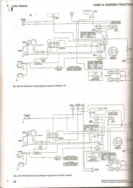 Wiring Diagramor John Deerewiring Deere With K181swiring For Lawn