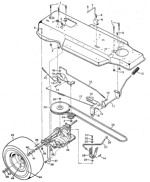 murray lawn mower parts lookup