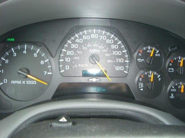 2004 Chevrolet Trailblazer Speedometer Stopped Working  20 Complaints