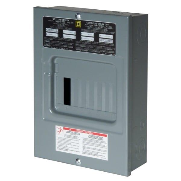 Shop Homeline 100 Amp Main Breaker Panel Box At Lowes Com