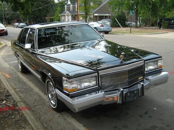 File 1991 Cadillac Fleetwood Gold