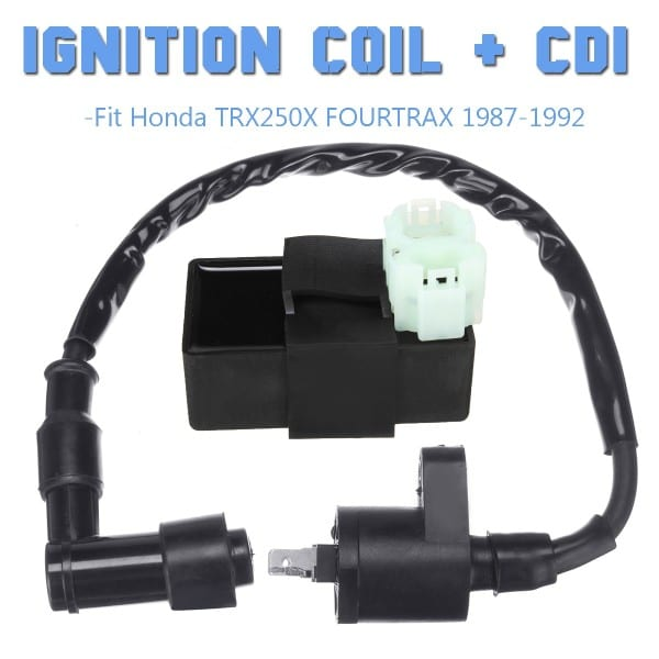 12v Ignition Coil +cdi For Honda Trx250x Fourtrax 1987 1988 1989