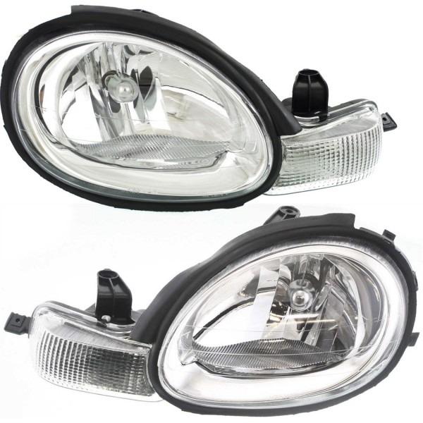 Headlight Set For 2000