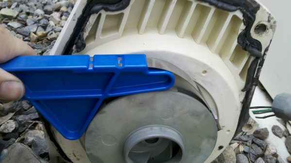 Spa Pump  Spa Pump Impeller Removal