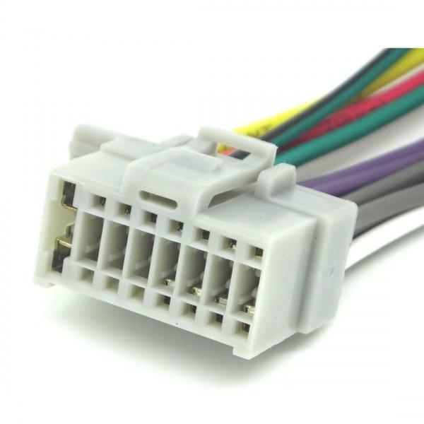 16pin Wire Harness For Panasonic Cq C3433u   Cq C500u   Cq C5110u