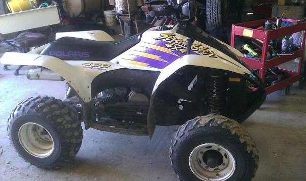 Whats This Worth 1996 Polaris Scrambler 400 4 U00d74  U2013 Car