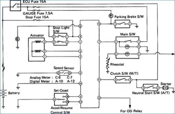 1991 Toyota Mr2 Fuse Box Wiring Diagram