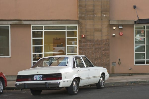 Old Parked Cars   1984 Mercury Marquis