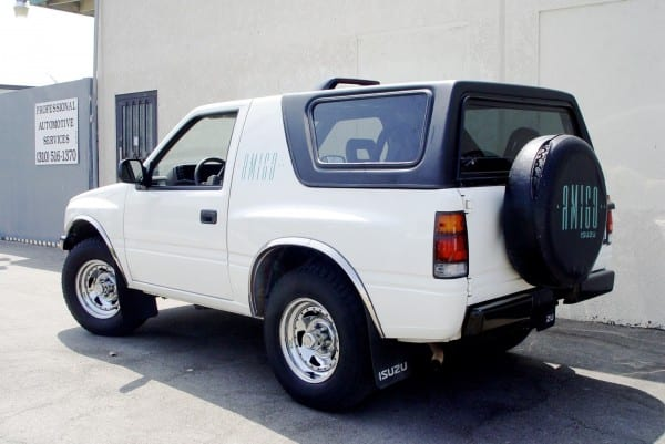 Rally Tops Quality Hardtop For Isuzu Amigo & Rodeo Sport