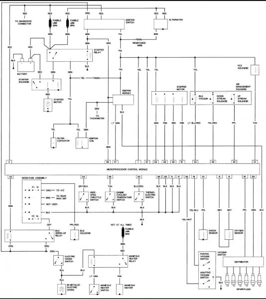 1990 Jeep Wrangler Wiring Diagram
