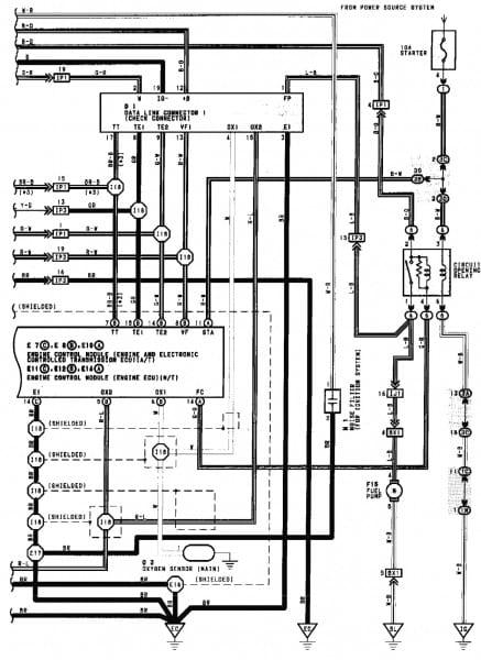 1990 Toyota Camry Wiring Diagram