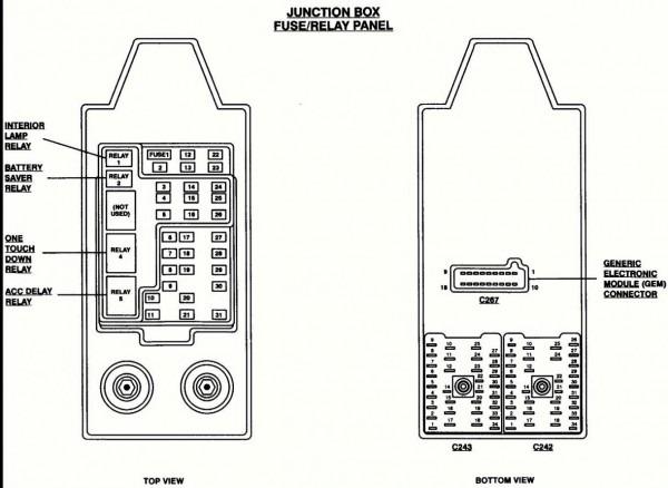 F150 Fuse Diagram 2002