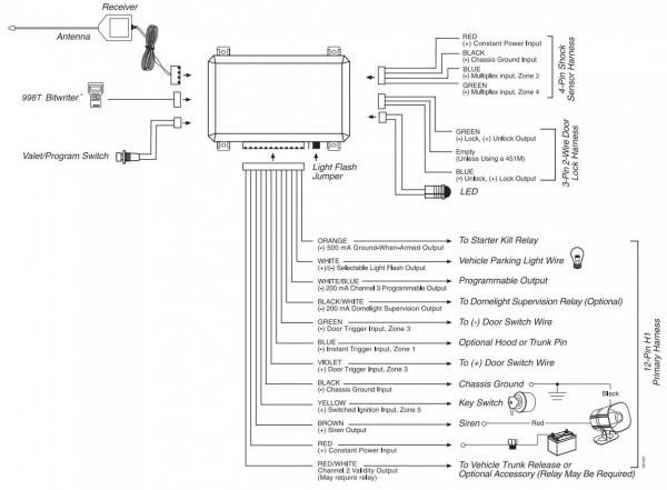 Audiovox Car Alarm Wiring Diagram