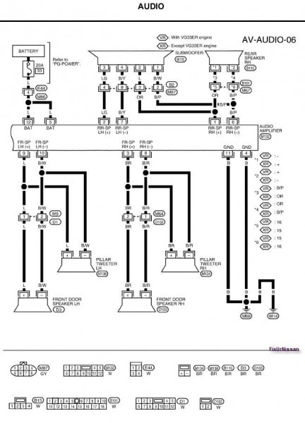 2002 Nissan Altima Headlight Wiring Diagram