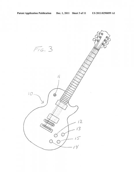 Intuitive Electric Guitar Switching For Selecting Sounds Of
