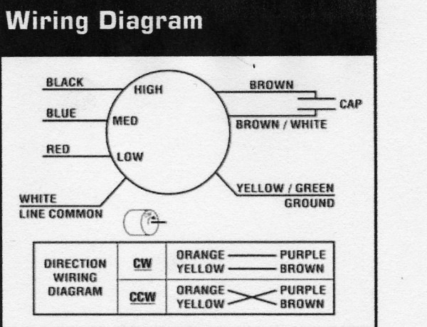 Ao Smith Fan Motor Wiring Diagram