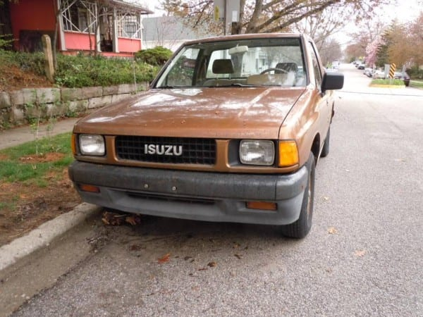 Curbside Classic  1988 Isuzu Pickup – No Soup For You!