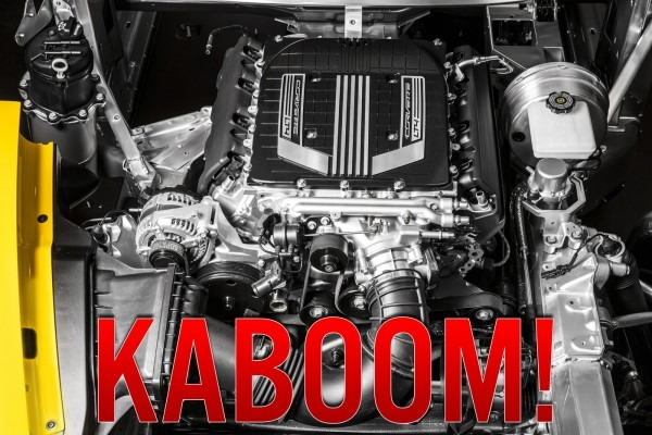 First 2015 Chevy Corvette Z06 Engine Destroyed With Just 891 Miles