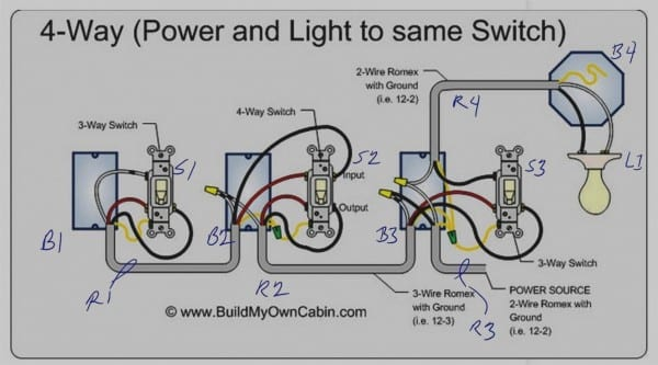 25 Pictures Of Wiring Diagram 4 Way Switch Light In Middle