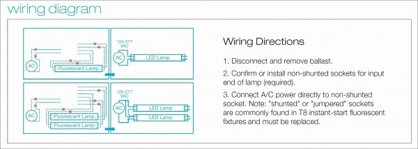 T12 To T8 Ballast Wiring Diagram  Two Lamp Ballast Wire Diagram, 3
