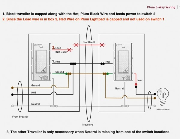 2 Way Dimmer Switch Wiring Diagram