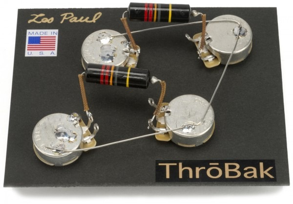 Les Paul Wiring Harness  Throbak 50's Style Wiring Kit For Les