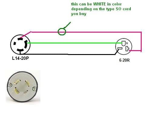 L14 20r Plug Wireing Diagram