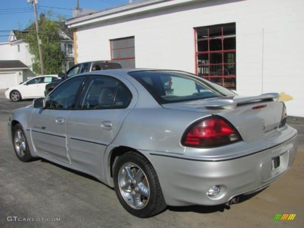 2001 Galaxy Silver Metallic Pontiac Grand Am Gt Sedan  54913408