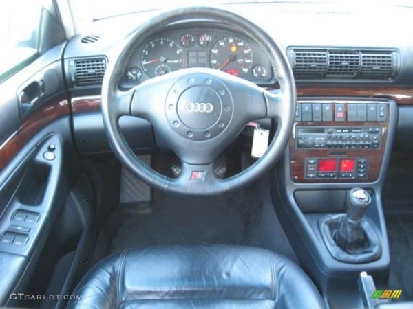 1998 Audi A4 2 8 Sedan Onyx Black Dashboard Photo  57849038