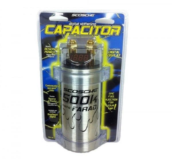 Scosche 500k Micro Farad Capacitor By Scosche  Amazon Com