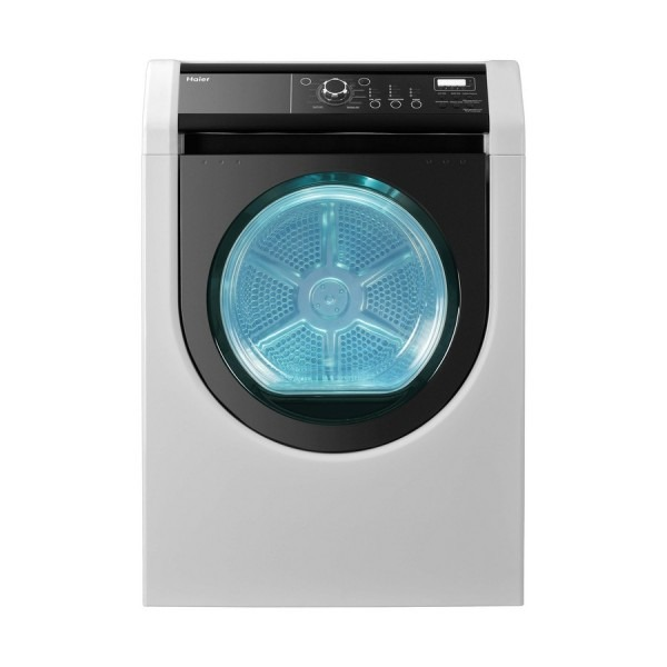 Shop Haier 7 7 Cu  Ft  Gas Dryer (white) At Lowes Com