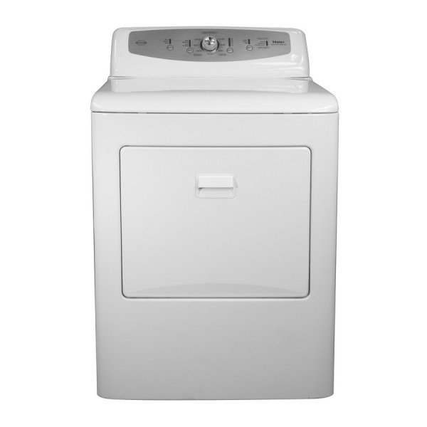 Shop Haier 6 6 Cu Ft Gas Dryer (white) At Lowes Com