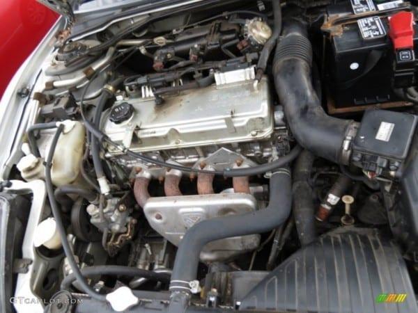 2001 Mitsubishi Eclipse Spyder Gs 2 4 Liter Sohc 16 Valve