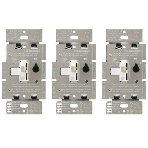 Double Pole Dimmer Switch