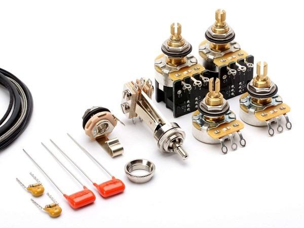 Toneshaper Guitar Wiring Kit, For Les Paul Standard, Push Pull
