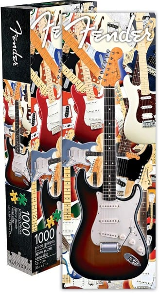 Amazon Com  Fender Stratocaster 1000 Piece Jigsaw Puzzle  Toys & Games