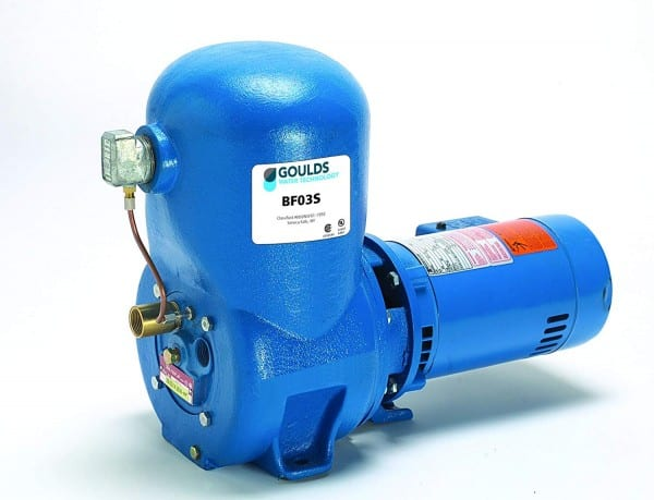 Goulds Bf03s Shallow Well Jet Pump, 1 2 Hp, 1 Ph