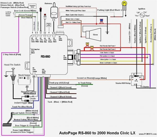 99 Civic Radio Wiring Diagram