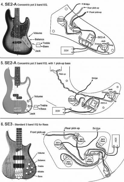 P Bass Wiring Mods