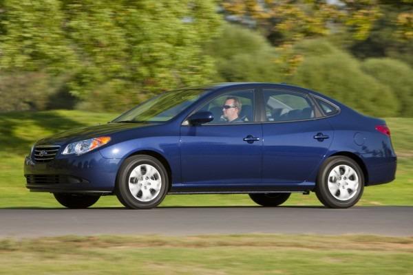 2010 Hyundai Elantra Blue Photo Gallery