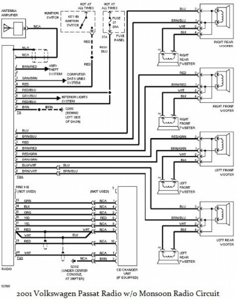 2003 Jetta Radio Wiring Diagram