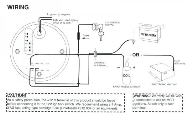 Type R Monster Tach Wiring Diagram