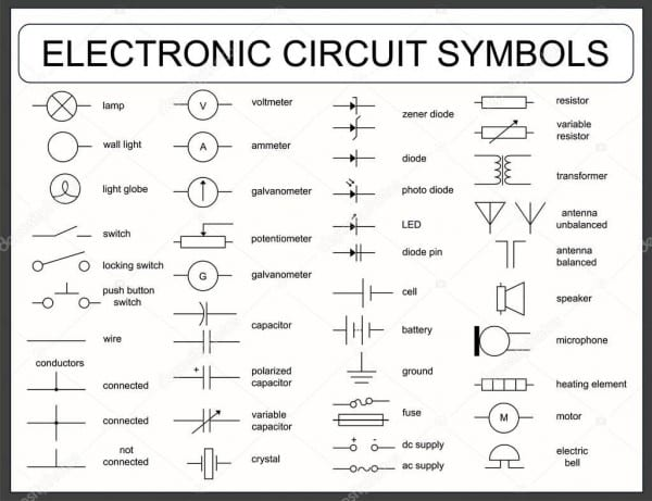 Car Wiring Diagram Symbols