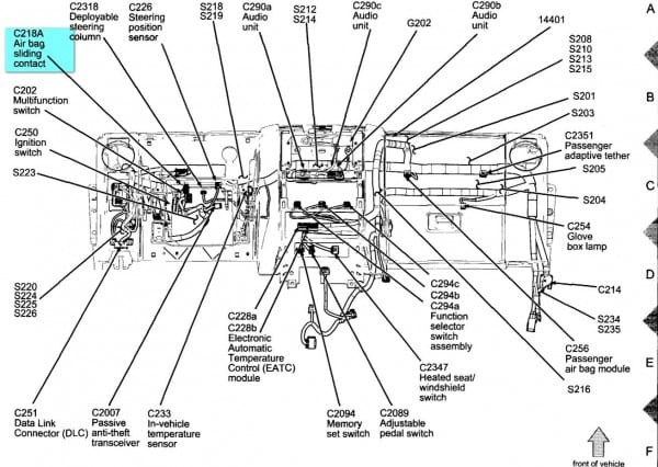 2002 Ford Explorer Exhaust System Diagram