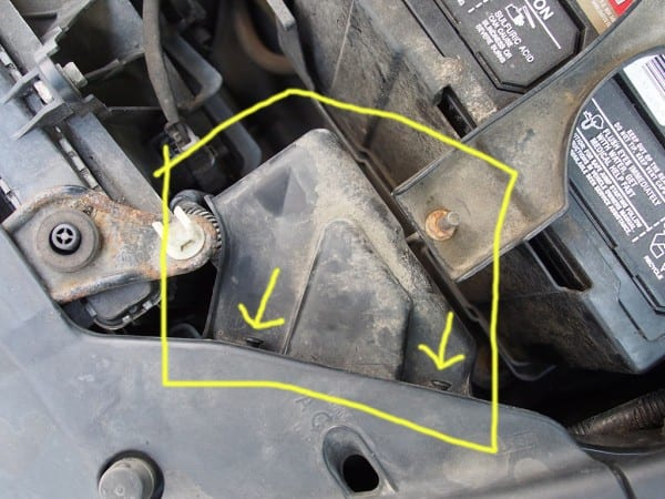 Headlight Bulb Replacement Without Removing Fender Liner