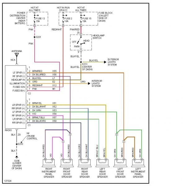 Dodge Stratus Wiring Diagram
