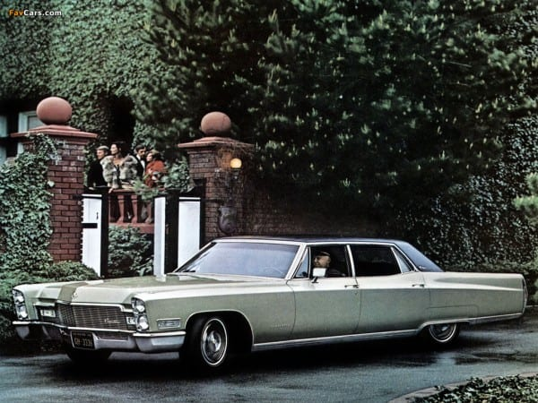 Cadillac Fleetwood Sixty Special Brougham 1968 Images