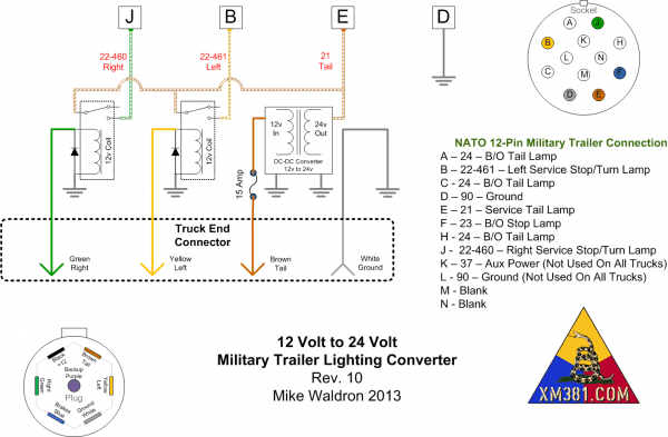 12 Pin Wiring Diagram